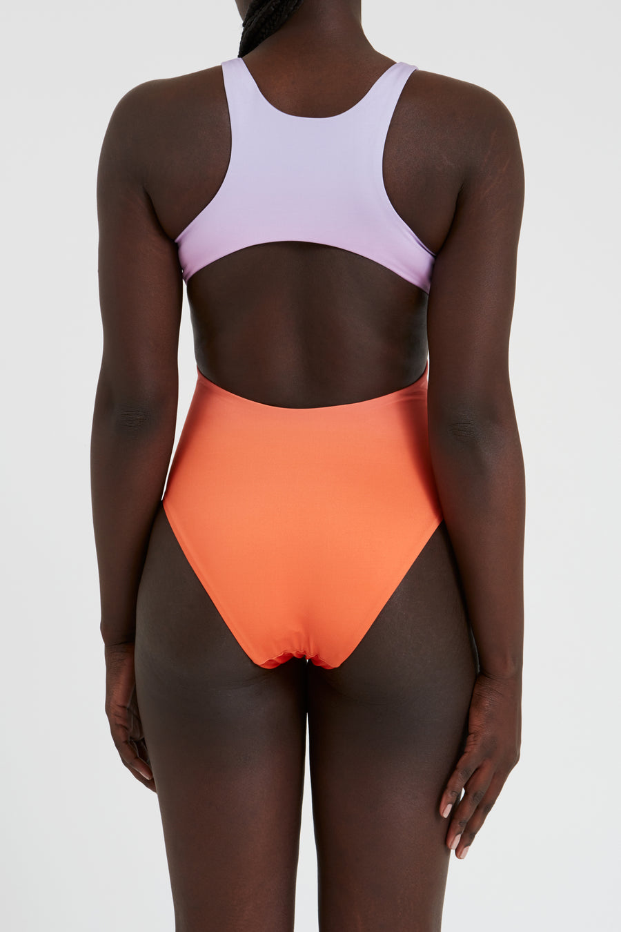 Swimsuit – high neck, sunset