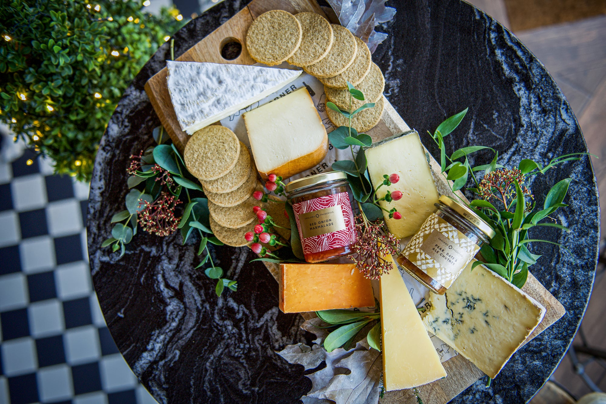 The Christmas Day Cheeseboard