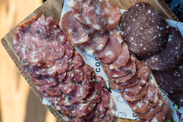 Flat Pack Flatbreads - British Charcuterie Selection - Collection 11th June
