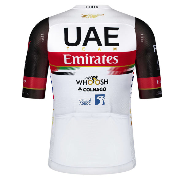 MAILLOT UNISEX MANGA CORTA INFINITY WORLD TOUR UAE TEAM EMIRATES 2021