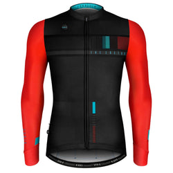 MAILLOT HOMBRE MANGA LARGA COBBLE RED TEAL