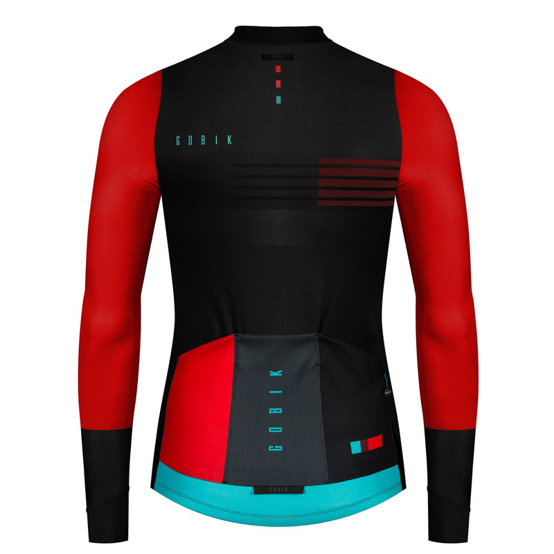 MAILLOT HOMBRE MANGA LARGA COBBLE SAVAGE RED