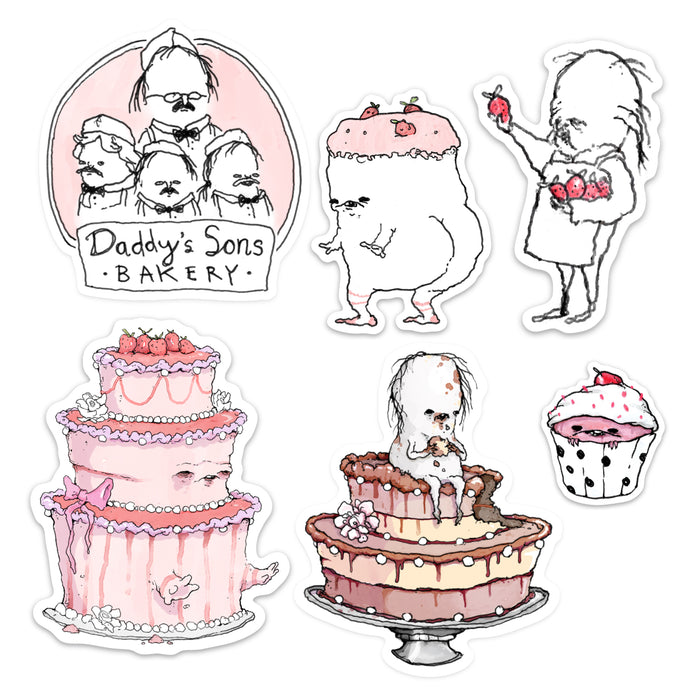 Baker's Pack - Sticker Pack