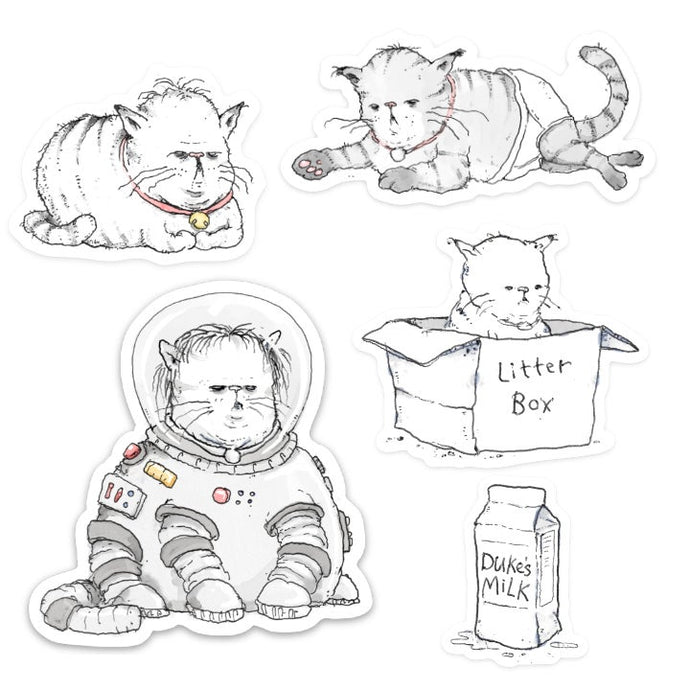 Sticker Pack #1: Cat Pack
