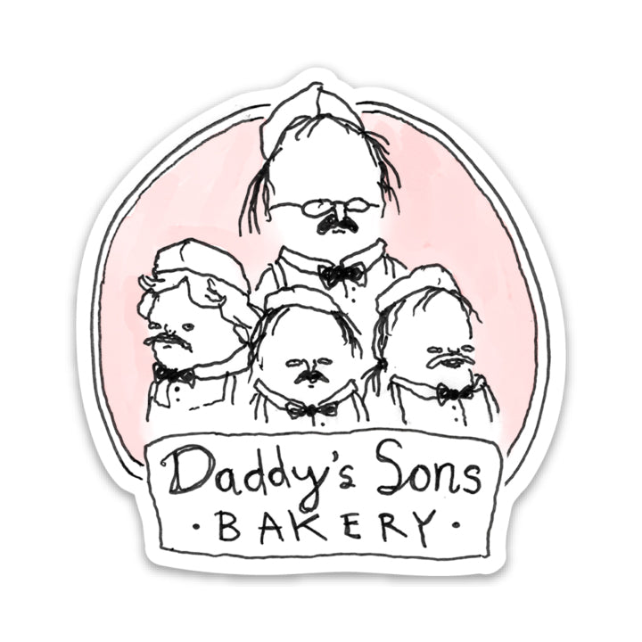 Daddy's Sons Bakery Magnet