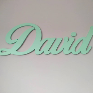 Sign Name Painted