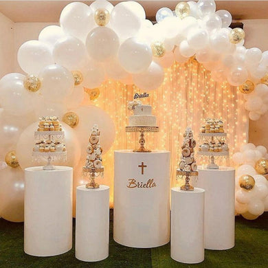 Wedding dessert table set wrought iron cylinder shelf wedding mall stage 20