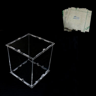 Disassembled Acrylic Cube