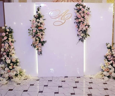 Backdrop White 8 x 12feet