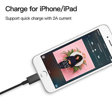 Load image into Gallery viewer, Apple USB Charger Cable (Apple iPhone, 5, 5s, 6, 6S, 7, X, iPad - 1m)