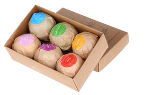 Natural Bath Bomb Gift Set