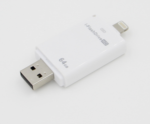 On the go USB flash drive for Iphone