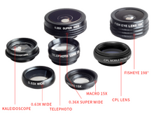 Load image into Gallery viewer, Mobile Phone 9 Piece Lens Kit