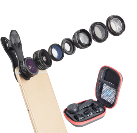 Mobile Phone 9 Piece Lens Kit