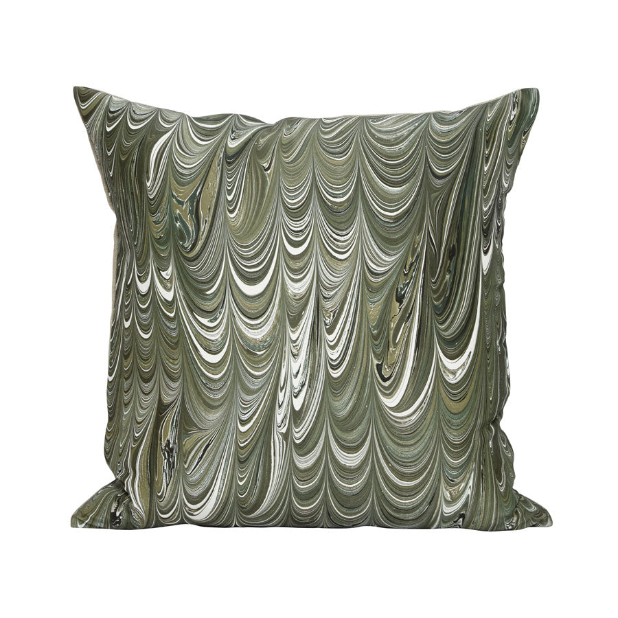 Abacus Pillow in Moss Agate