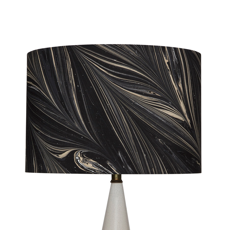 Serpentine Lampshade in Abyss