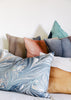 colorful assortment of pillows