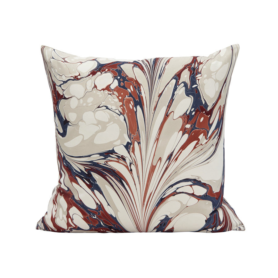 Stone Plume Pillow in Canna Lily