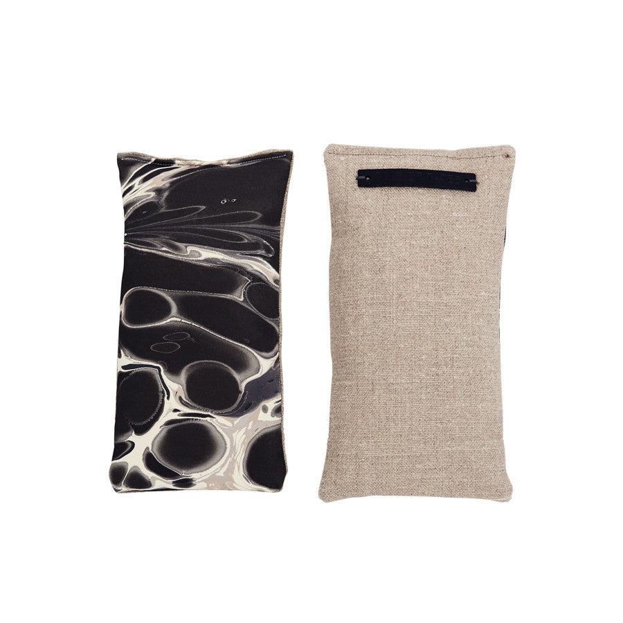 Stone Plume Tapa Cloth Eye Pillow / Sachet