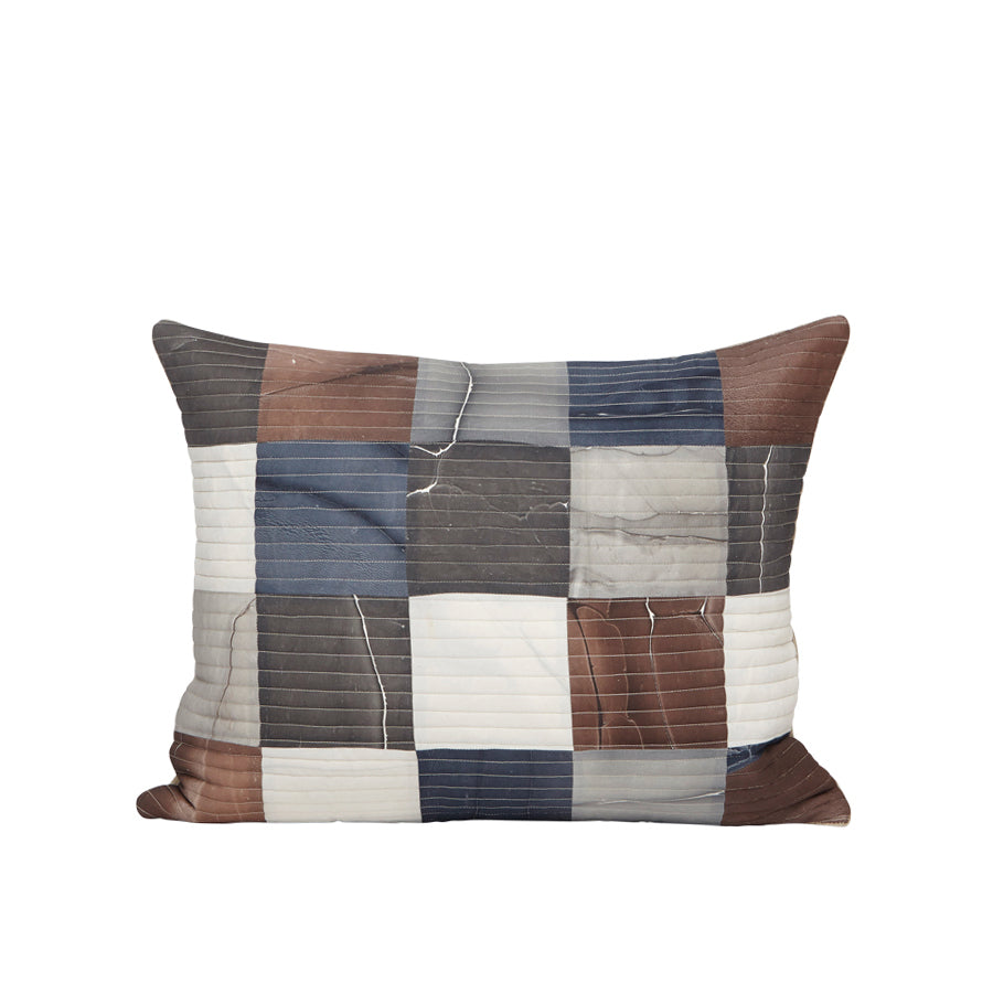 Mosaic Tides Pillow in Prince