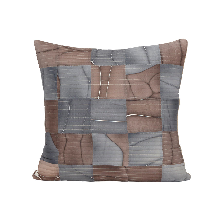 Mosaic Tides Pillow in Night Shade