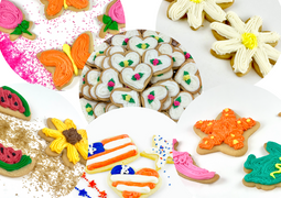 Iced Cut Out Cookies