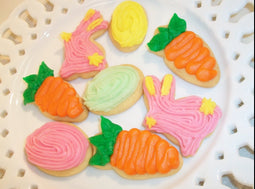 Easter Cut Out Cookies - Mini's