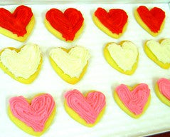 Valentine Cookies - Mini's - Shipping
