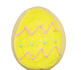 Large Iced Easter cut out cookies
