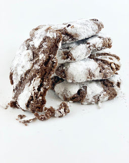 Chocolate crinkle cookie. Linda's Kitchen