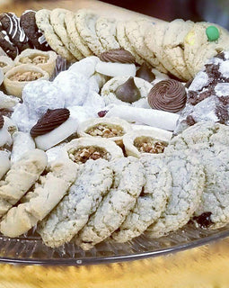 Delicious cookie trays to share with family and friends.