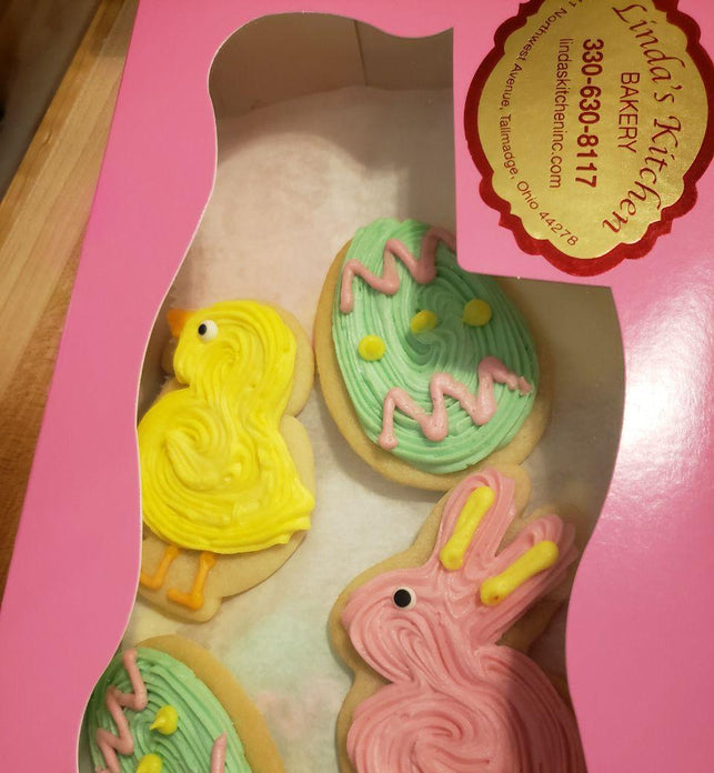 Easter Cut Out Cookies - Shipping