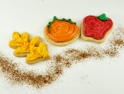 Fall Cut Out Cookies