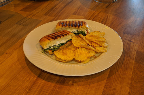 Turkey and Goat Cheese Panini
