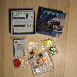 Greenland Board Game - Used