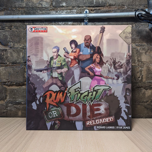 Run, Fight, Or Die! Board Game - Used