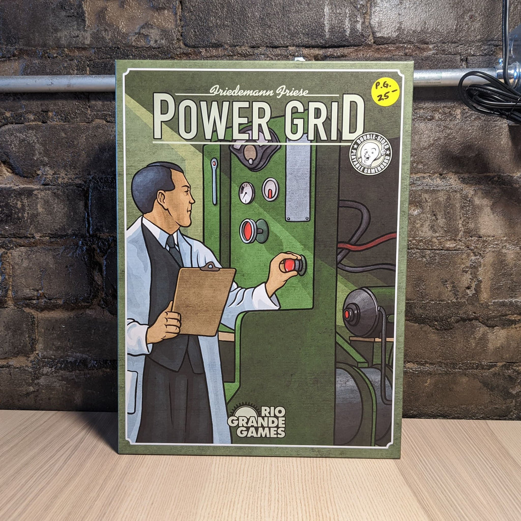 Power Grid Board Game - Used