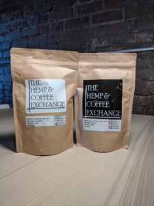Coffee from Hemp and Coffee Exchange