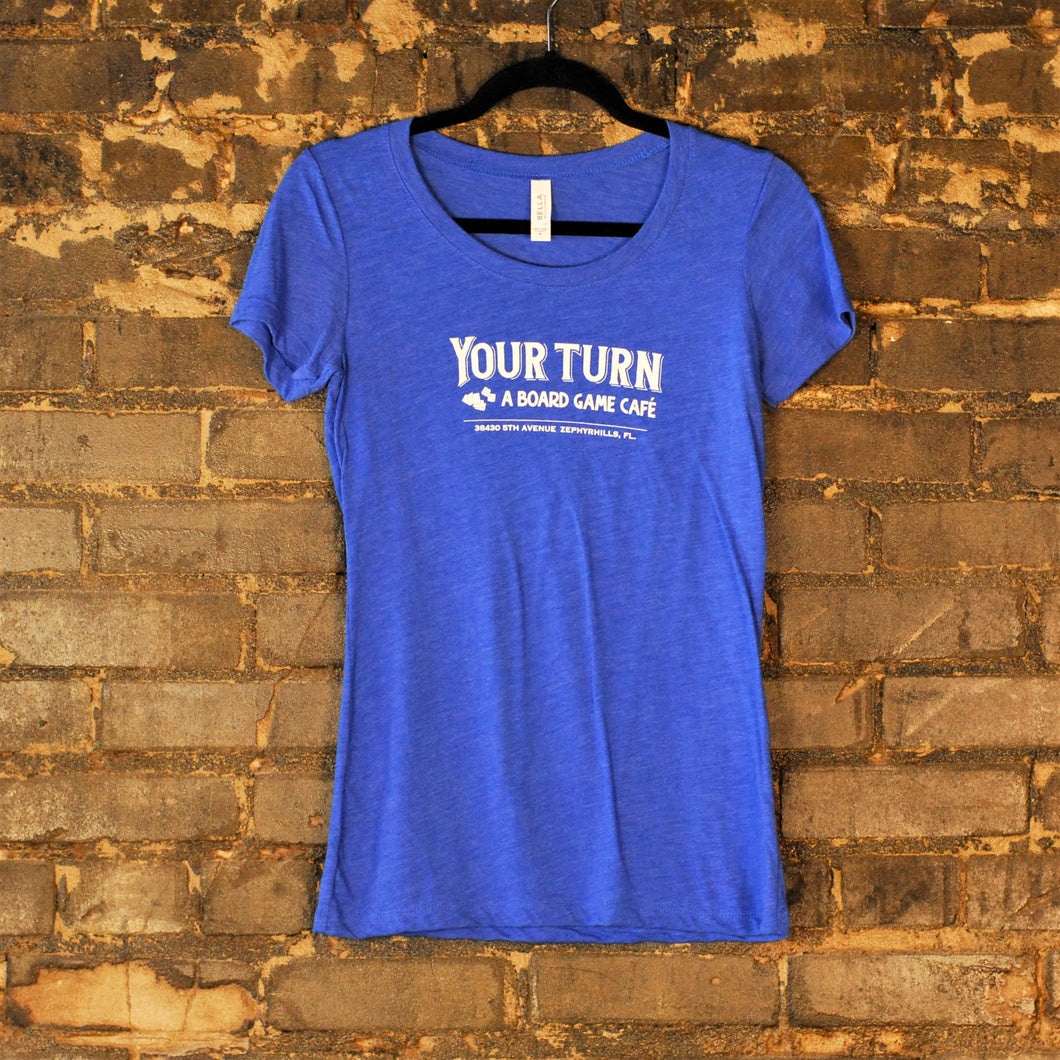 Women's Royal Blue T-Shirt