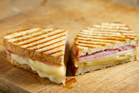 Ham and Cheese Panini