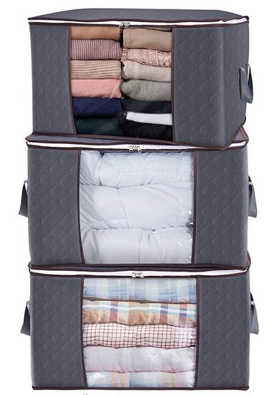 Large Clothes Storage Bag Organizer