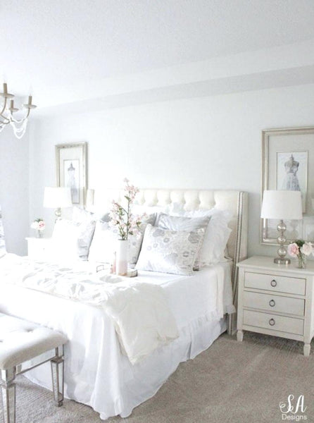 all white bedroom ideas lifestyle blogger from legacy shares gorgeous white bedroom ideas with blue and white bedroom ideas pinterest.