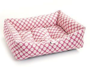 Dishy Pink Puppy Bed