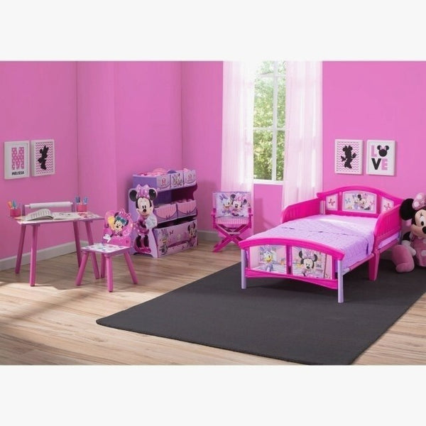 Archaikomely Minnie Mouse Toddler Bedroom Set