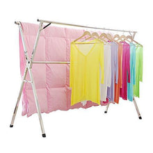 Load image into Gallery viewer, Select nice stainless steel laundry drying rack free installed foldable space saving heavy duty