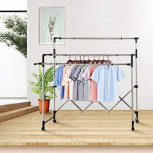Load image into Gallery viewer, On amazon sunpace laundry drying rack for clothes sun001 rolling collapsible sweater folding clothes dryer rack for outdoor and indoor use