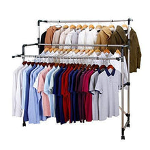 Load image into Gallery viewer, Kitchen sunpace laundry drying rack for clothes sun001 rolling collapsible sweater folding clothes dryer rack for outdoor and indoor use