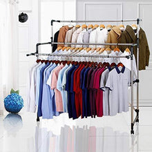 Load image into Gallery viewer, Order now sunpace laundry drying rack for clothes sun001 rolling collapsible sweater folding clothes dryer rack for outdoor and indoor use