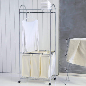 Shop for organize it all chrome laundry center