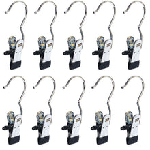 Load image into Gallery viewer, Save baihoo set of 10 laundry hooks pins boot hanger hold hanging clips home travel portable